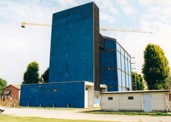 Restoration of the silos, 1999