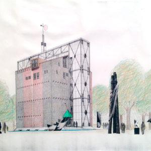 Giuseppe D'Avanzo, progetto per ristrutturazione del silo granario