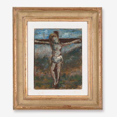 Ottone Rosai, Cristo in croce, 1948