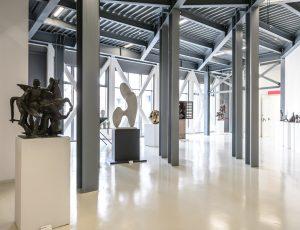 Piano 0, Veduta della sala della scultura
