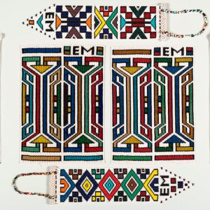 Esther Mahlangu, Abstract, 2009