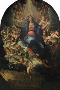Lavinia Fontana, Assunzione della Vergine, 1593