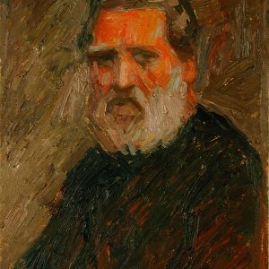 Emilio Notte, Autoritratto, 1970