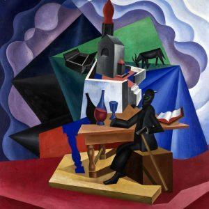 Fortunato Depero, Anacapri (Riesumazioni alpine),1920