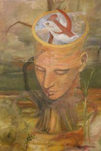 Dipinto originale di F. Scepi, 1977