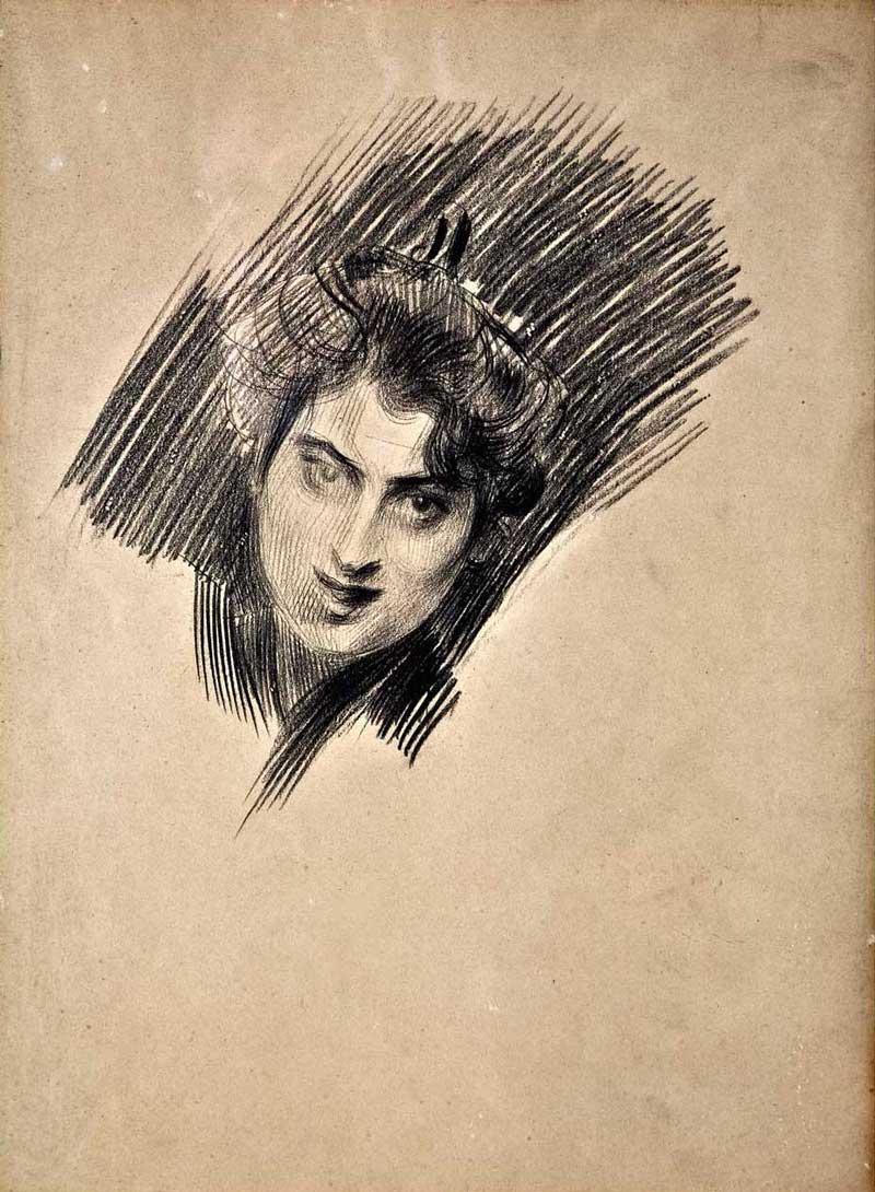 Boldini-Giovanni_Bozzetto-sd_matita-su-carboncino-su-carta_cm-31x24