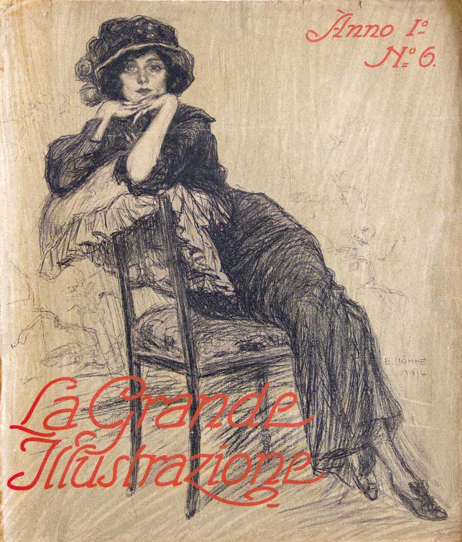 Lionne-Enrico_La-grande-illustrazione_numero-6_giugno-1914