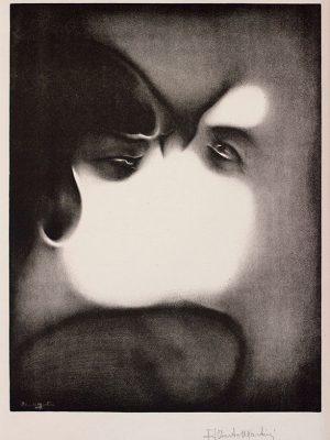 Alberto Martini, Il bacio, 1915