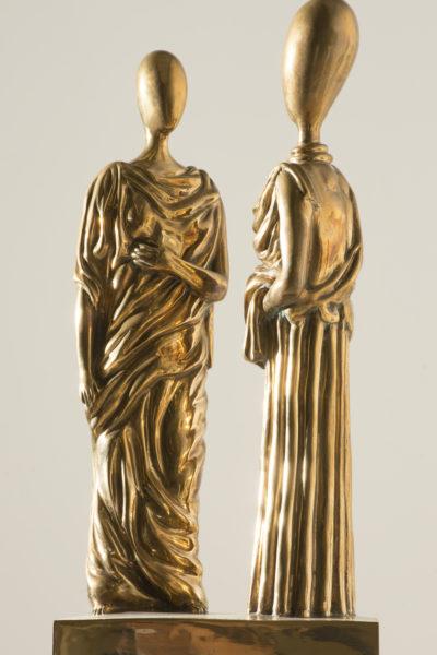Giorgio de Chirico_La musa inquietante_bronzo lucidato h cm 50_tratto da gesso originale del 1970 es V_VII