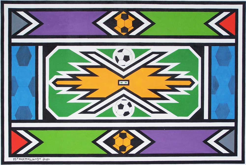 Esther-Mahlangu---senza-titolo-2010--acrilico-su-tela-cm100x150