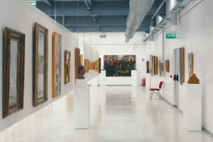 Ground floor, artworks by the '900's Masters