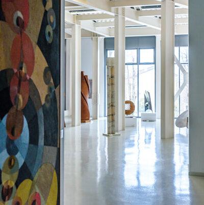 Piano 1, Veduta della sala della scultura