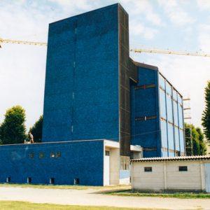 Lavori di ristrutturazione del silo, 1999