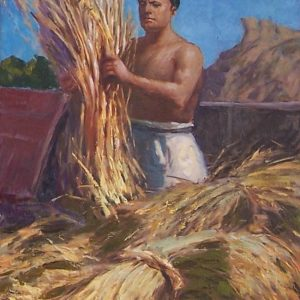 Basilio Cascella, La battaglia del grano, 1936