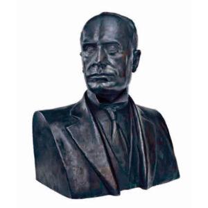 Canonica-Pietro_busto-di-Mussolini,-Anni-Trenta,-bronzo,-cm.-43x60x33,5