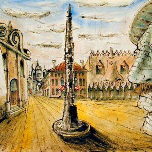 Riccardo Ricas, Studio per la città umanizzata Venezia, 1991