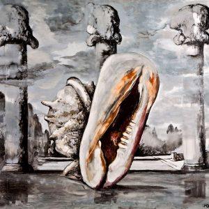 Sergio Vacchi, La piscina di perla, 1974