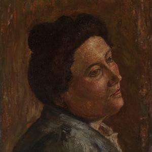 Amedeo Modigliani, Ritratto della Signora Micheli, 1904
