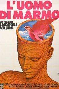 F.Scepi, Manifesto per il film L'Uomo di marmo, 1979
